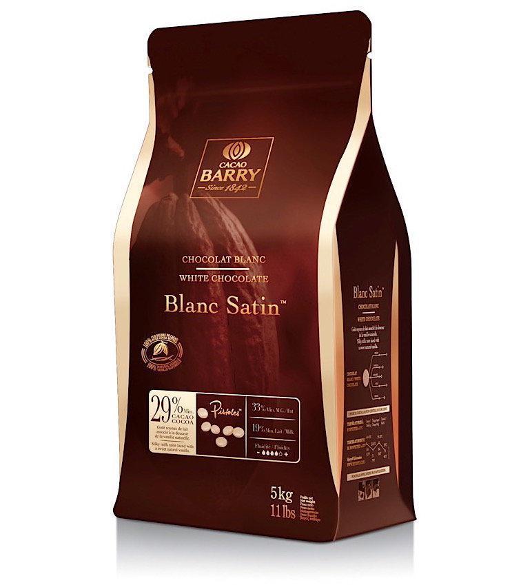 Шоколад Callebaut белый 29,2% 5кг для фонтана и фондю