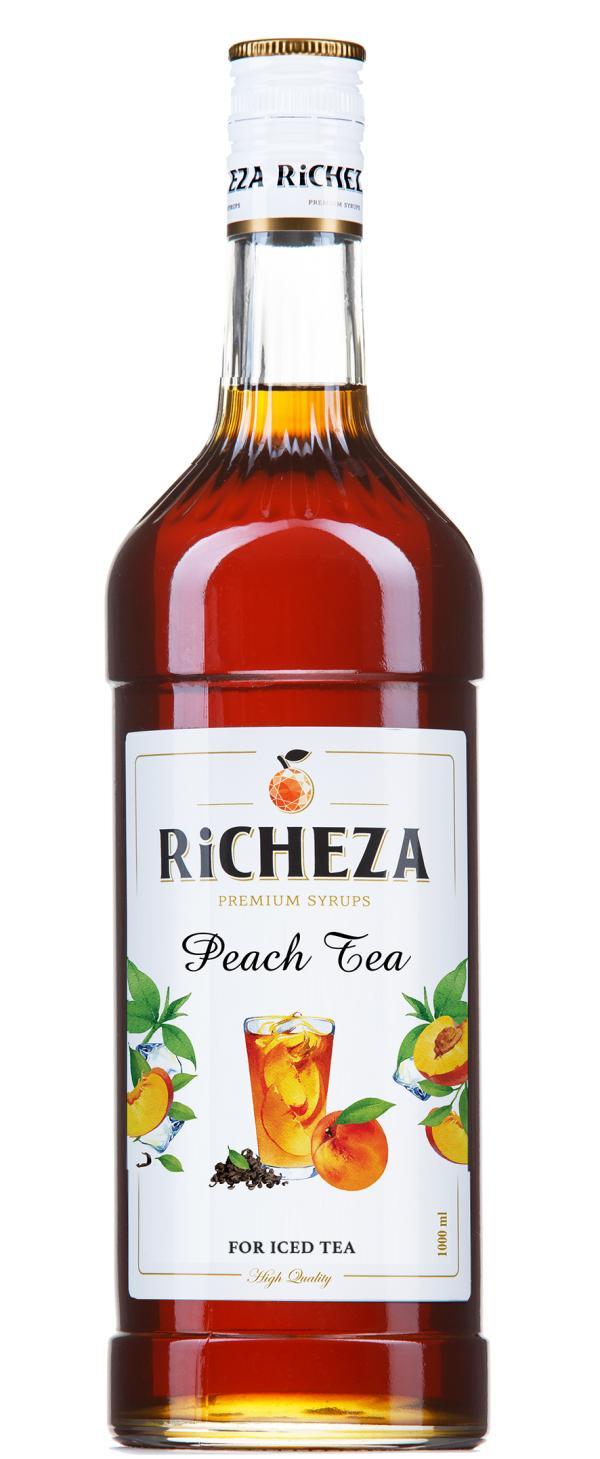 Сироп Чай со вкусом персика RiCHEZA 1 л.