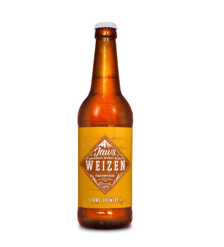 Пиво Jaws Weizen Пшеничное в баварском стиле 4,6%