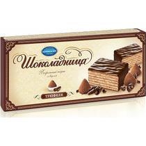 Торт вафельный Коломенское Шоколадница трюфель