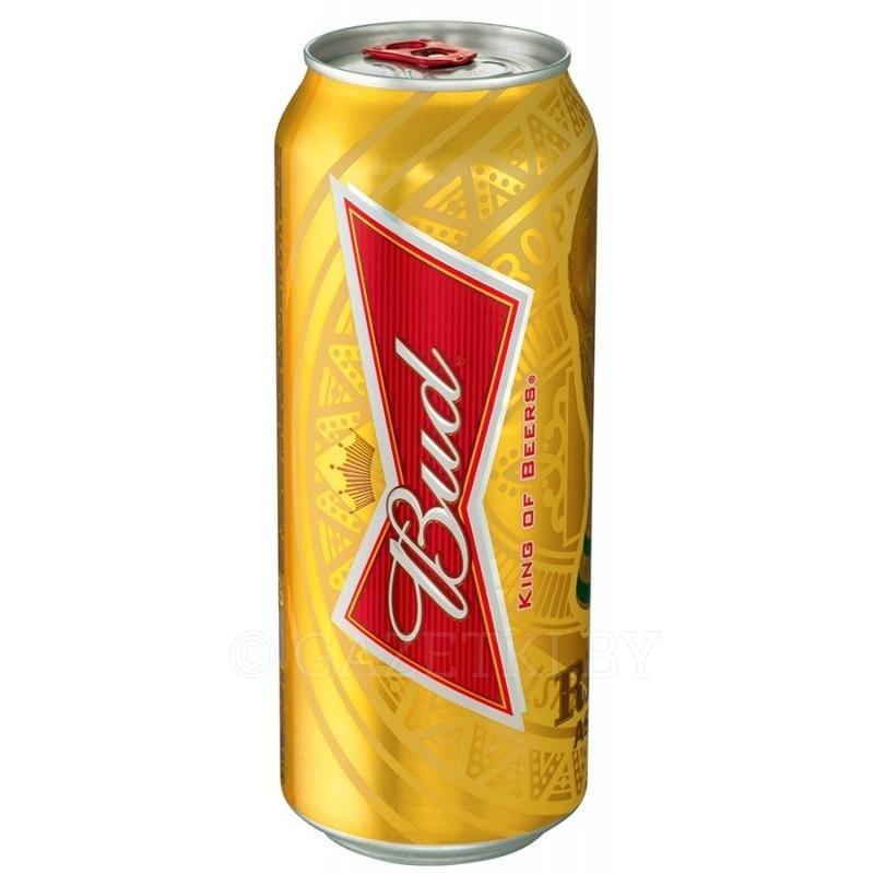 Пиво Bud светлое 4,8%