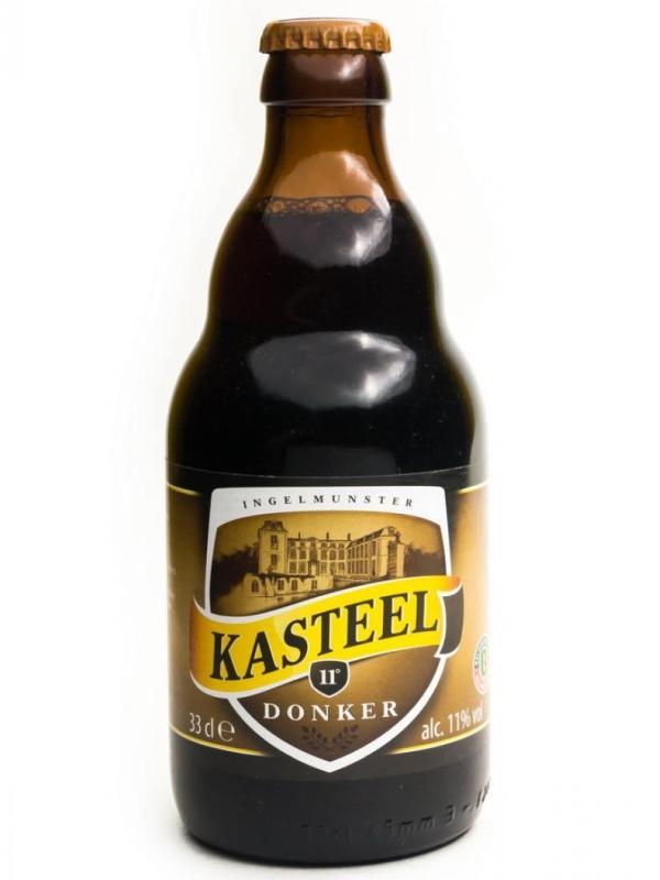 Пиво Van Honsebrouck Kasteel Donker пастеризованное нефильтрованное темное 11%