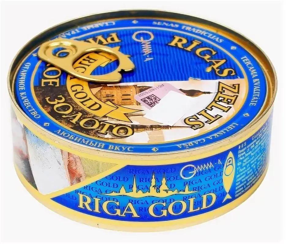 Сардина Рижское золото Дальневосточная иваси натуральная