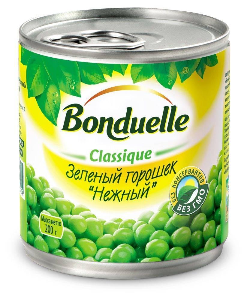 Горошек зеленый Bonduelle Нежный