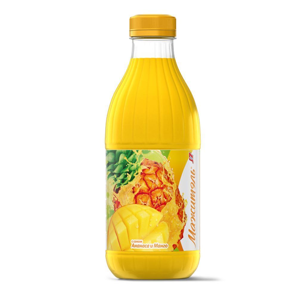 Напиток J7 Мажитэль сывороточный с соком ананаса и манго
