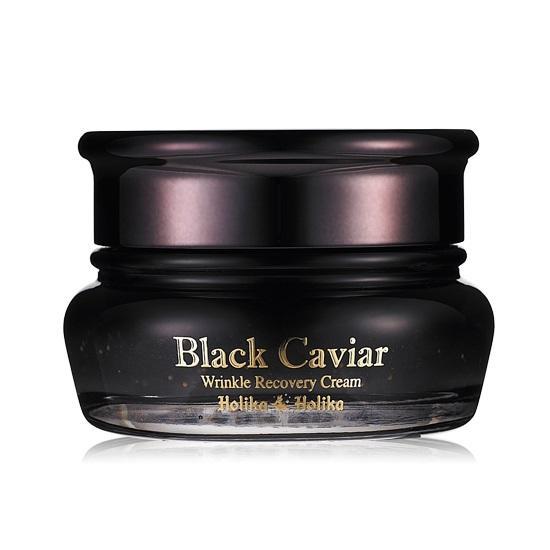 Крем для лица Holika Holika Black Caviar Antiwrinkle питательный лифтинг