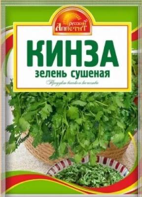 Приправа Русский аппетит кинза зелень сушеная