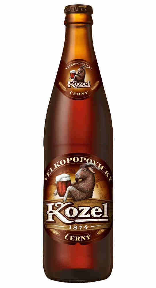 Пиво Козел Велкопоповицкий темное
