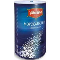Соль поваренная пищевая Atlantika Морская мелкая