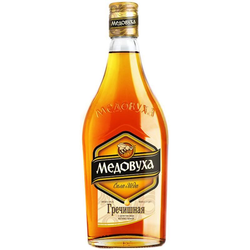 Настойка Медовуха Гречишная с ароматом мёда горькая 40%
