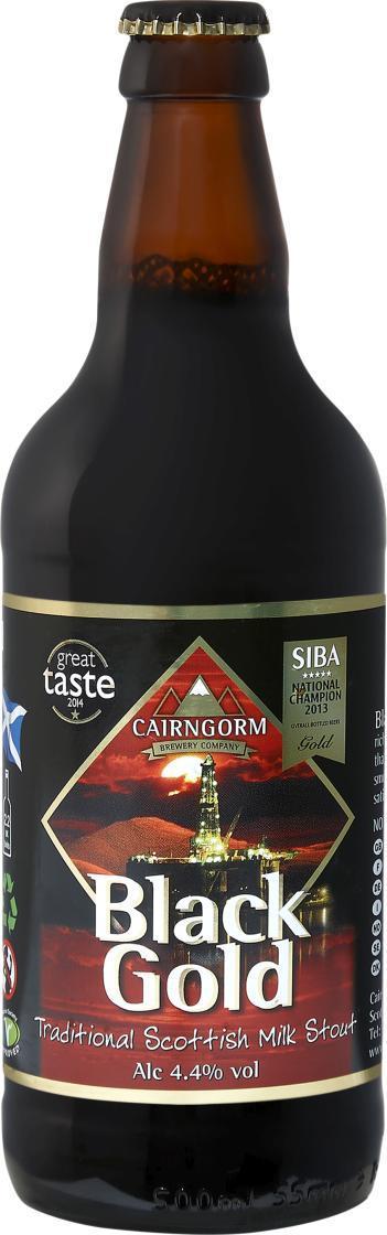 Пиво CAIRNGORM Black Gold темное фильтрованное