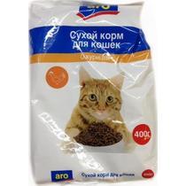 Корм сухой для кошек с курицей Aro