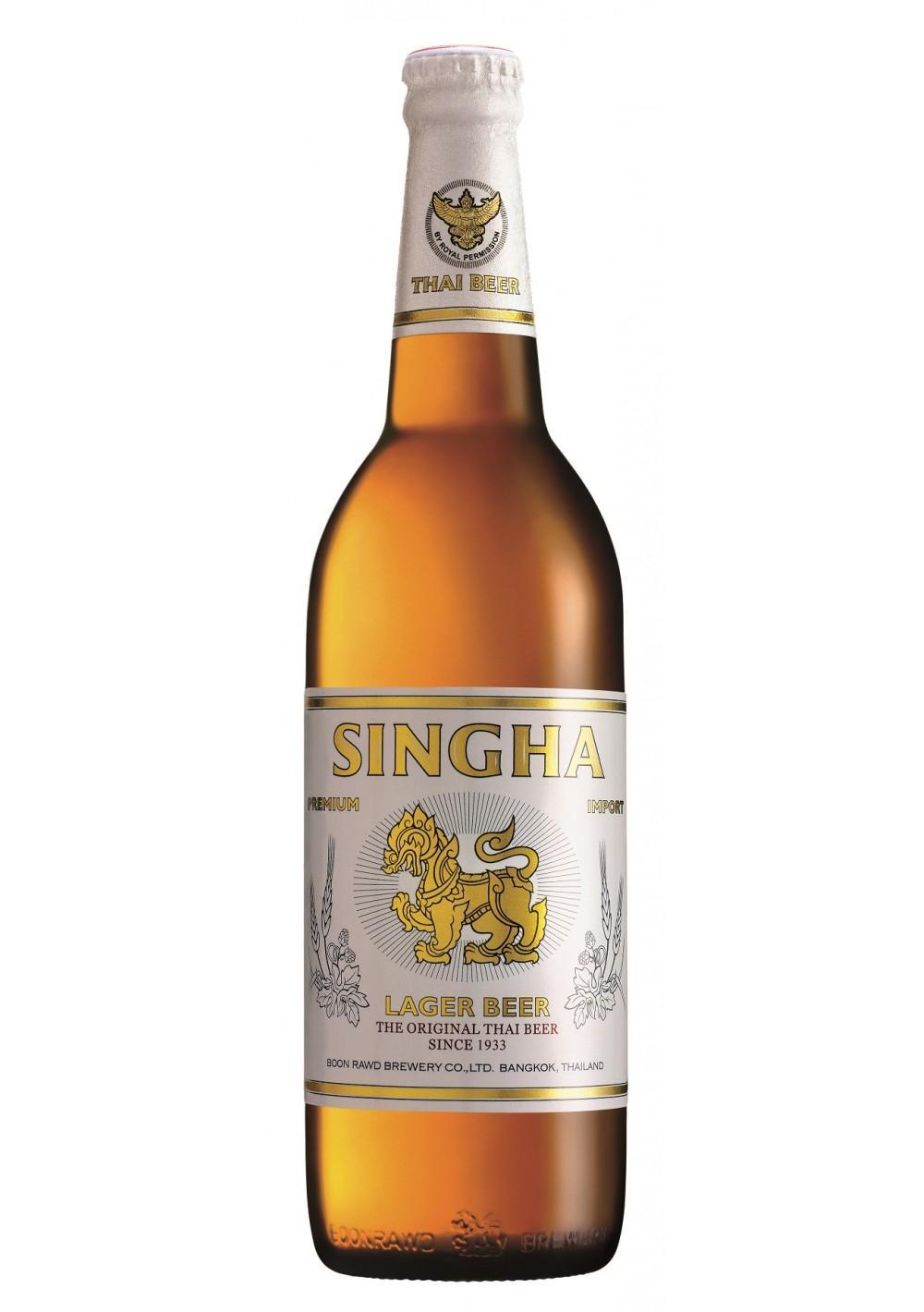 Пиво Singha светлое 5%