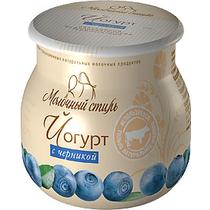 Йогурт Молочный Стиль с черникой термостатный 2,5% 125 г