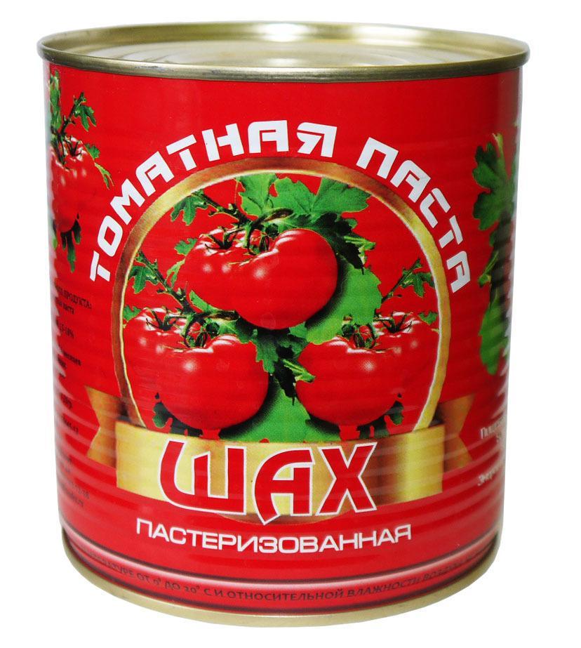 Томатна паста Шах пастеризованная