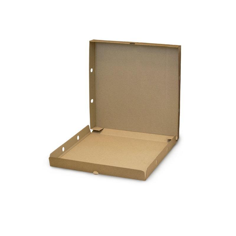 Коробка для пиццы, 330*330*40 мм, крафт