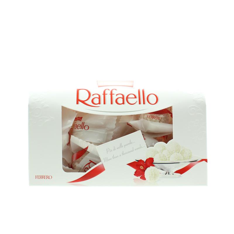 Конфеты Raffaello Сундучок С цельным миндальным орехом в кокосовой обсыпке