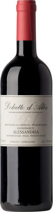 Вино Дольчетто д'Альба / Dolcetto d'Alba,  Дольчетто,  Красное Сухое, Италия