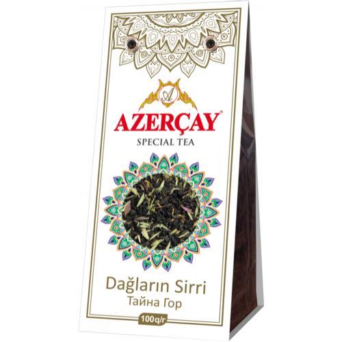 Чай черный Azercay tea С чабрецом Тайна Гор