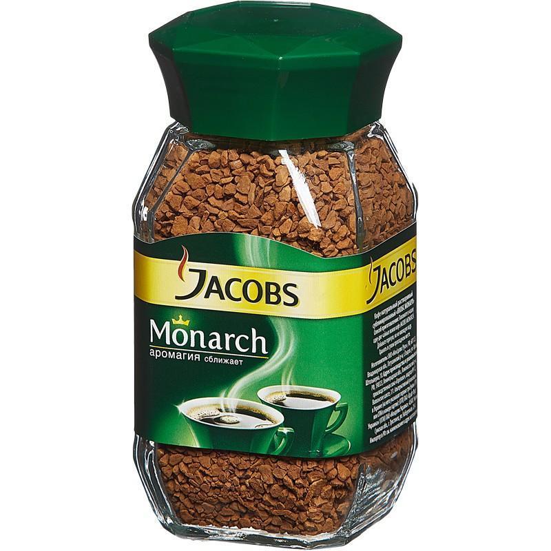 Кофе Jacobs Monarch в гранулах