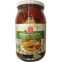 Ассорти овощное Fine Life из томатов и патиссонов