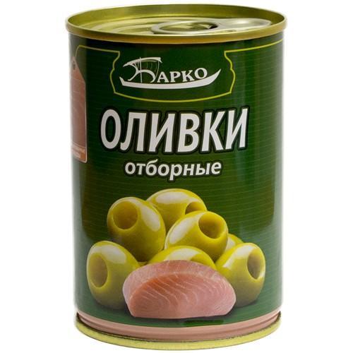 Оливки Барко фаршированные тунцом