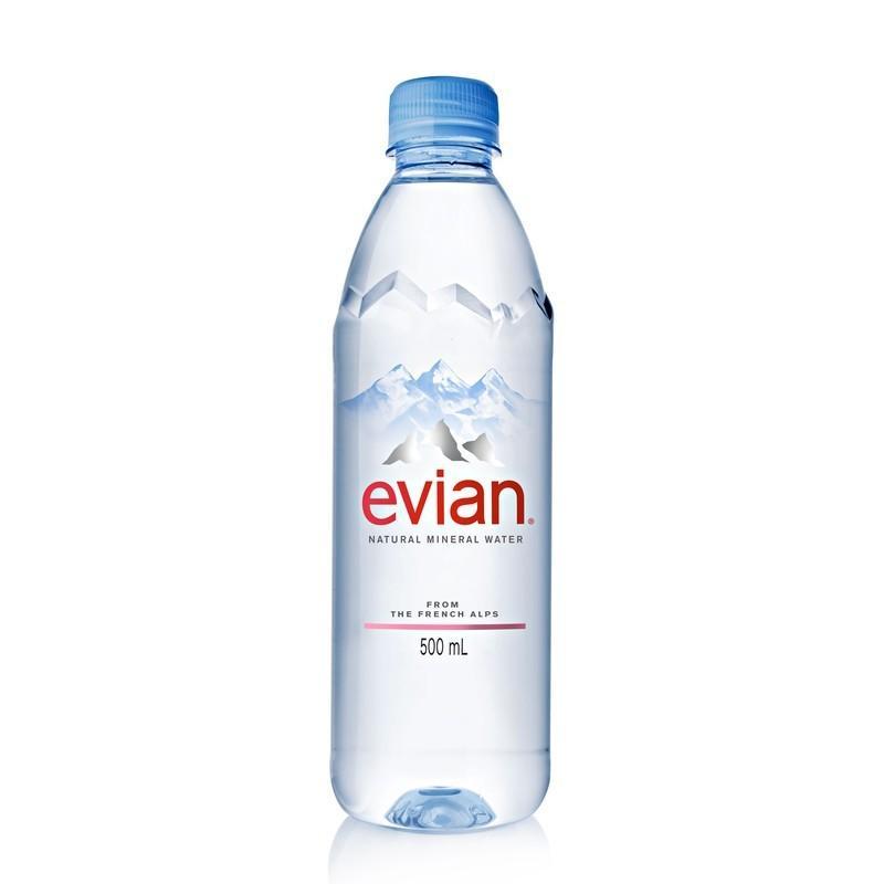 Вода Evian минеральная негазированная