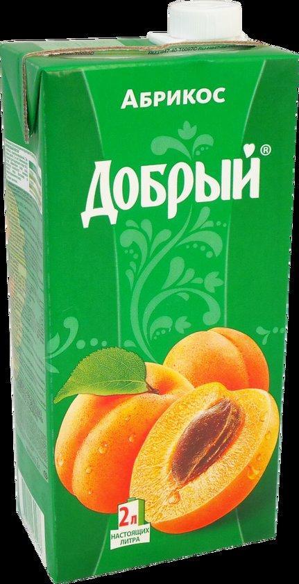 Нектар Добрый абрикосовый