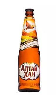 Пиво Алтай Хан светлое фильтрованное непастеризованное 4,7%