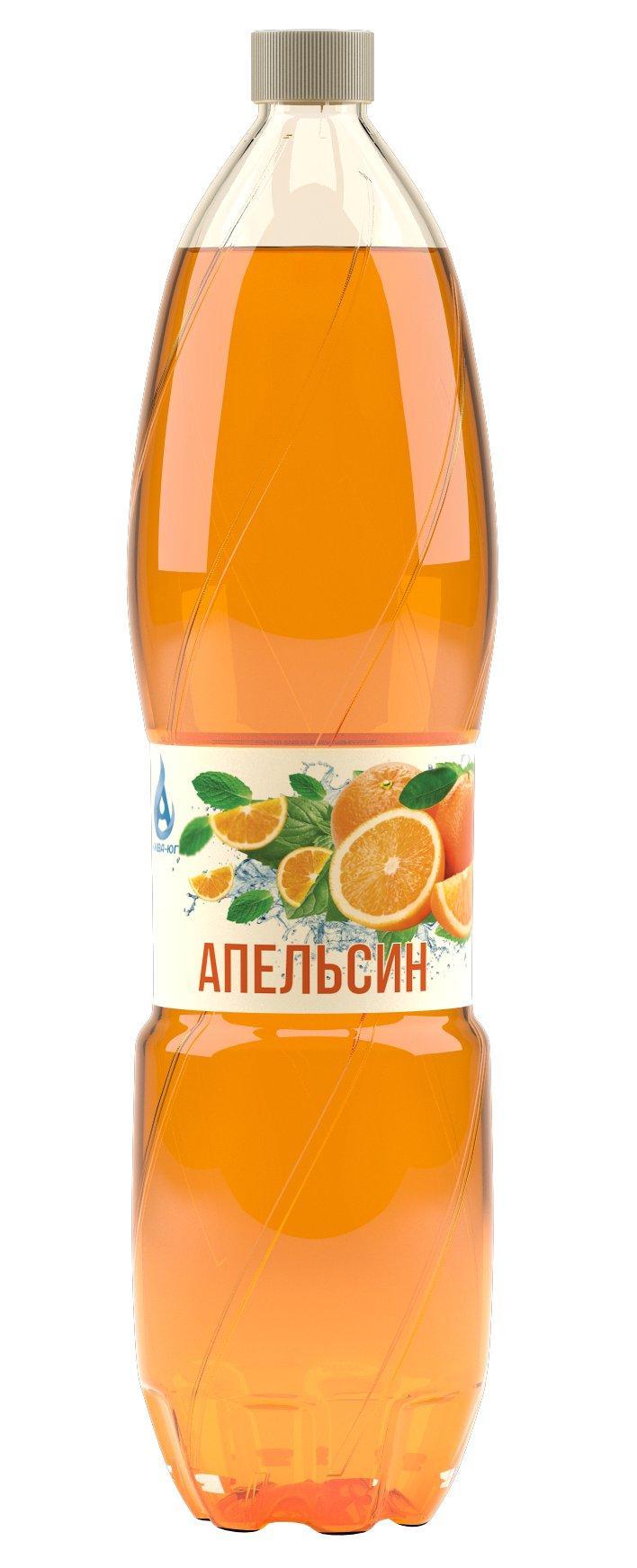 Напиток Ржевпиво апельсин безалкогольный газированный