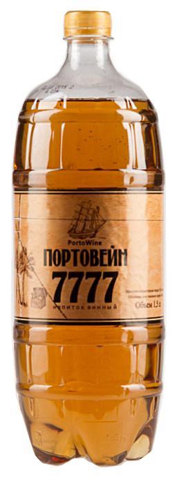 Вино Портвейн 777 фруктовое полусладкое 14%
