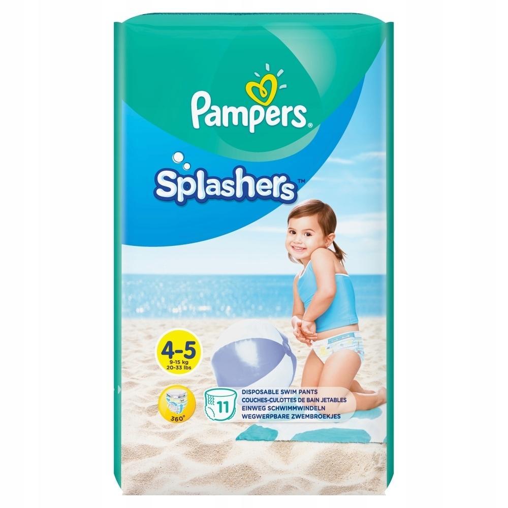 Подгузники-трусики Pampers для плавания 4-5(9-15 кг), 11 шт.
