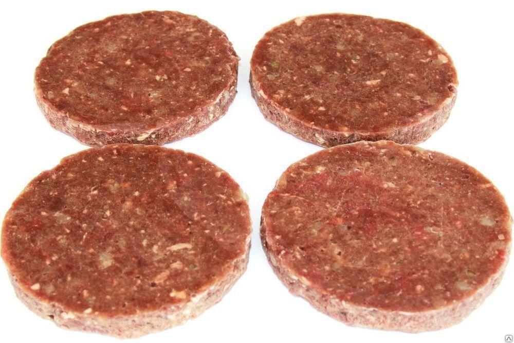 Котлеты Street Food для гамбургеров С говядиной Деликатесные
