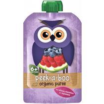 Пюре Peek-a-boo из яблок, малины и черники с 6 месяцев