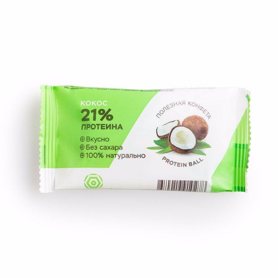 Батончик HealthyВall Protein Кокос