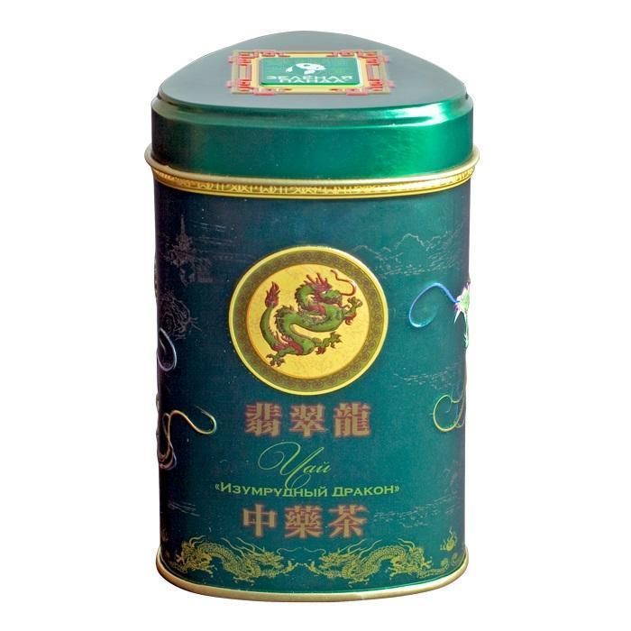 Чай зеленый Зеленая Панда Изумрудный Дракон
