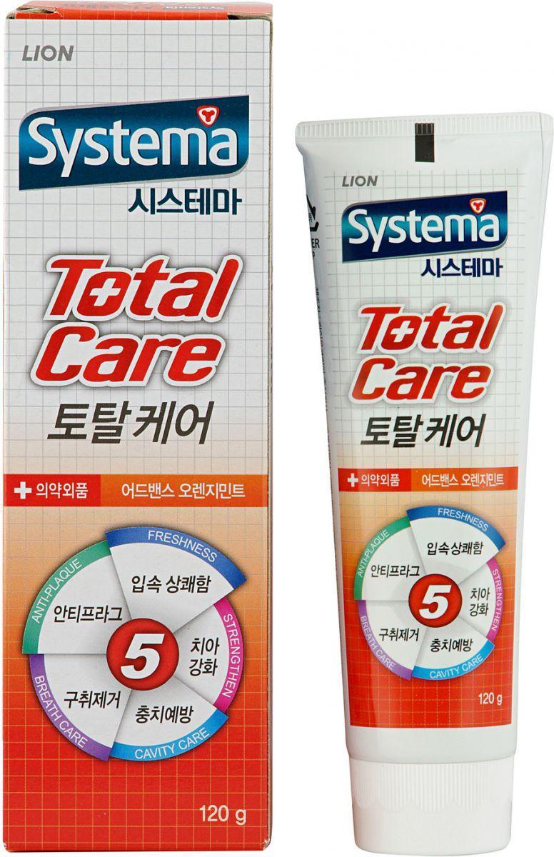 Зубная паста CJ Lion Systema Комплексный уход Апельсин