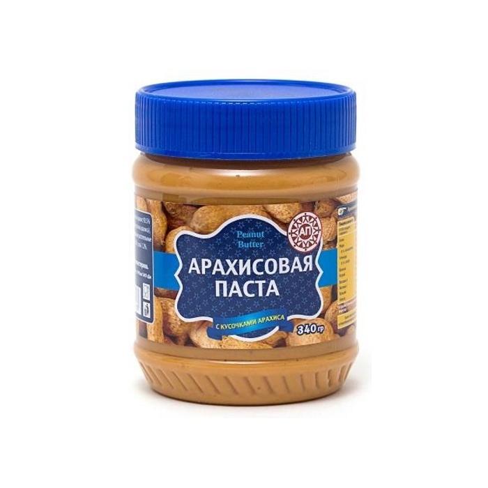 Ореховая паста АП с кусочками арахиса