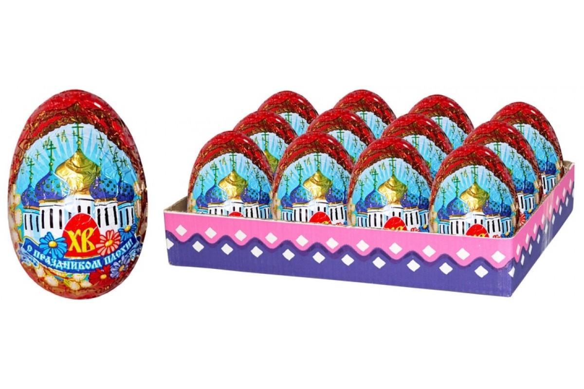 Шоколадное яйцо Шоколадный дом Пасхальное большое