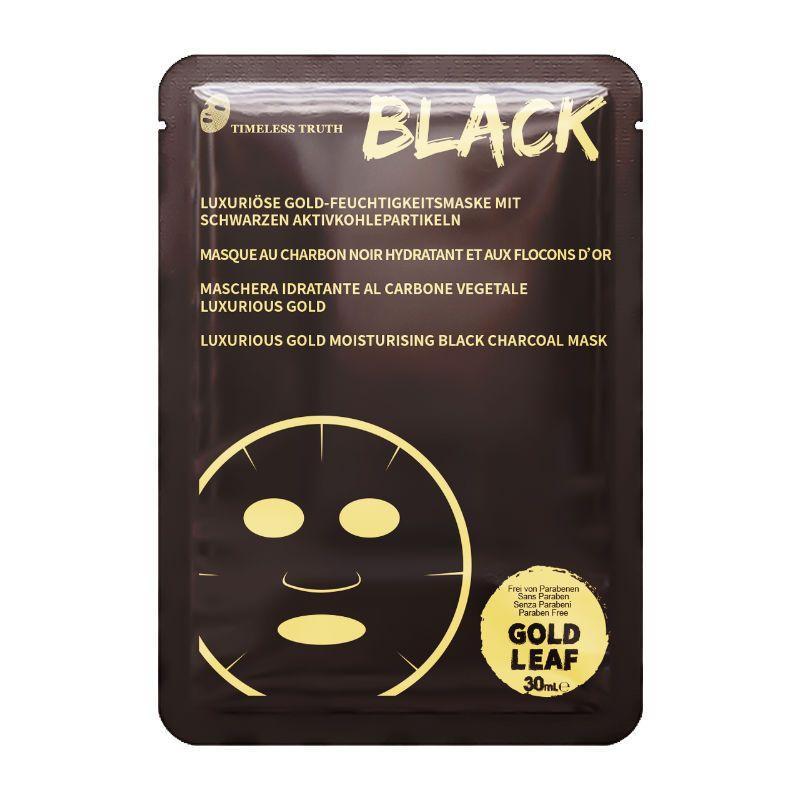 Маска для лица Timeless Truth с золотом на основе активированного угля