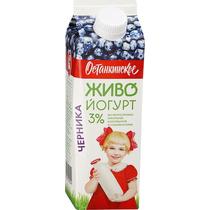 Биойогурт Останкинский Питьевой черника
