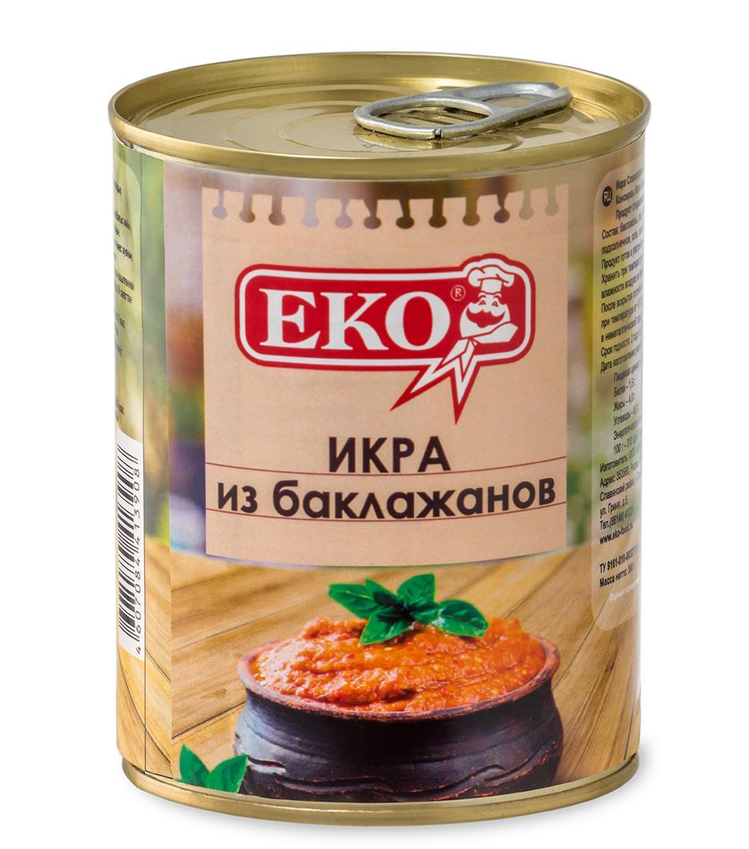Икра Еко Славянская из баклажанов