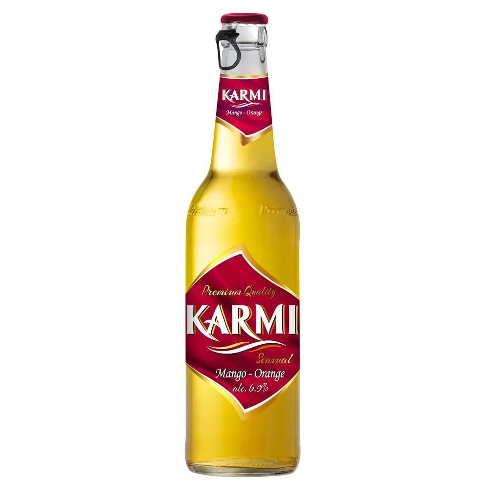 Пивной напиток Karmi Sentual Mango orange 6%