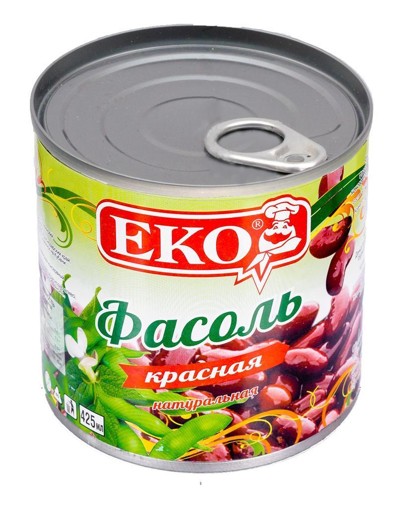 Фасоль ЕKO красная натуральная