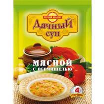 Суп Дачный суп мясной с вермишелью