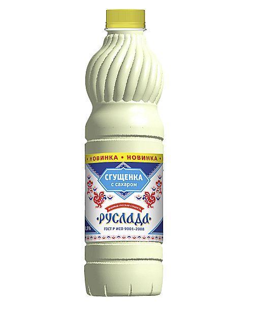Сгущенное молоко Руслада с сахаром 8,5% ГОСТ