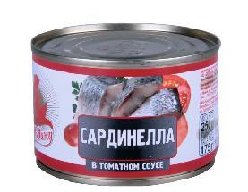 Сардинелла За Родину в томатном соусе