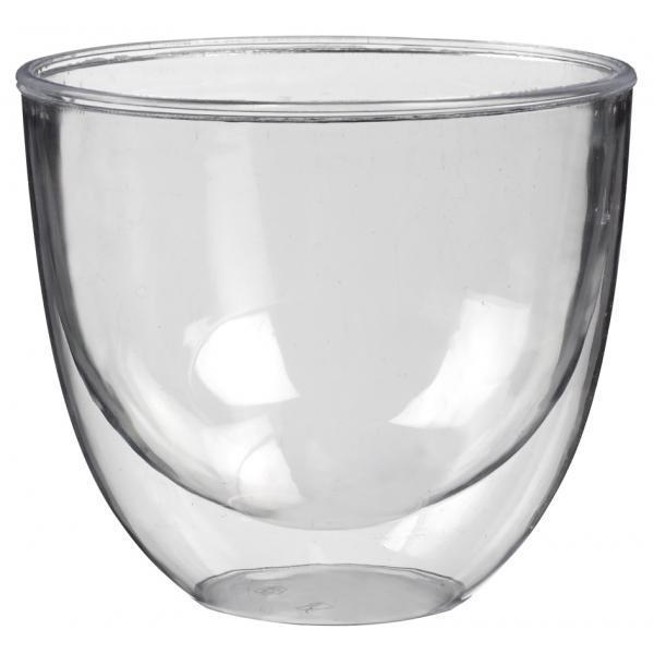 Форма фуршетная Papstar Чаша с двойным дном прозрачная 140мл. Н64хD73мм.