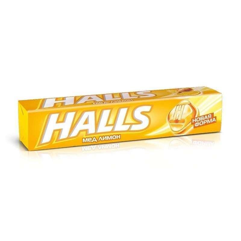 Леденцы Halls лимон и мед