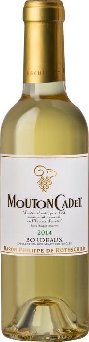 Вино Мутон Каде Блан / Mouton Cadet Blanc,  Совиньон Блан, Мюскадель, Семийон,  Белое Сухое, Франция